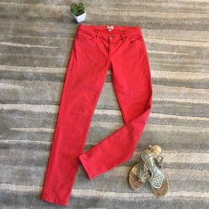 Fossil Skinny Stretch Tangerine Jeans